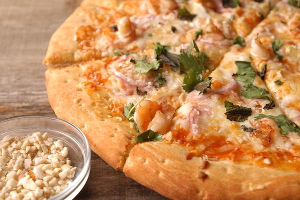 Willow Street's Coconut Prawn Pizza nuts