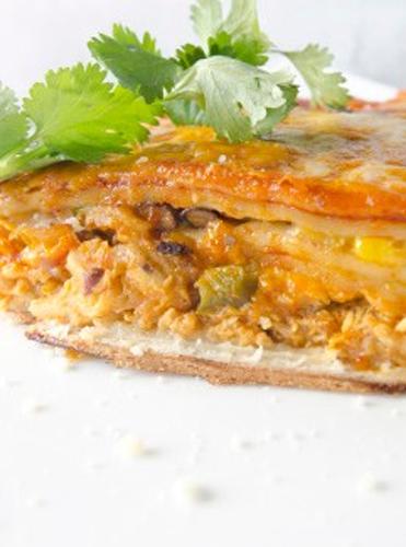 Chicken Enchilada Lasagna Photo by Josh Keown