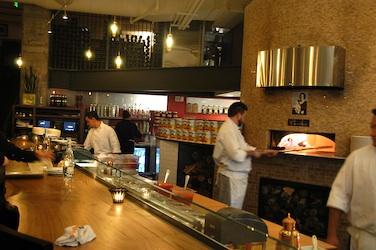 pizzeria kitchen staff