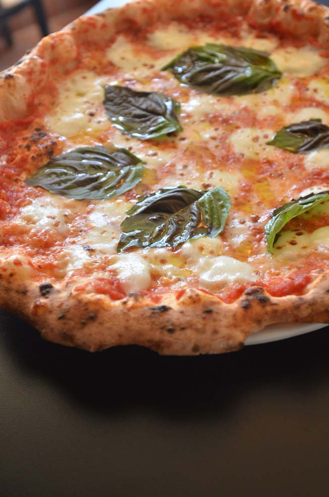 Bruno Napelano, San Diego, margherita, pizza