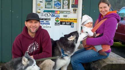 Brian Wildrick, Harborside, Alaska