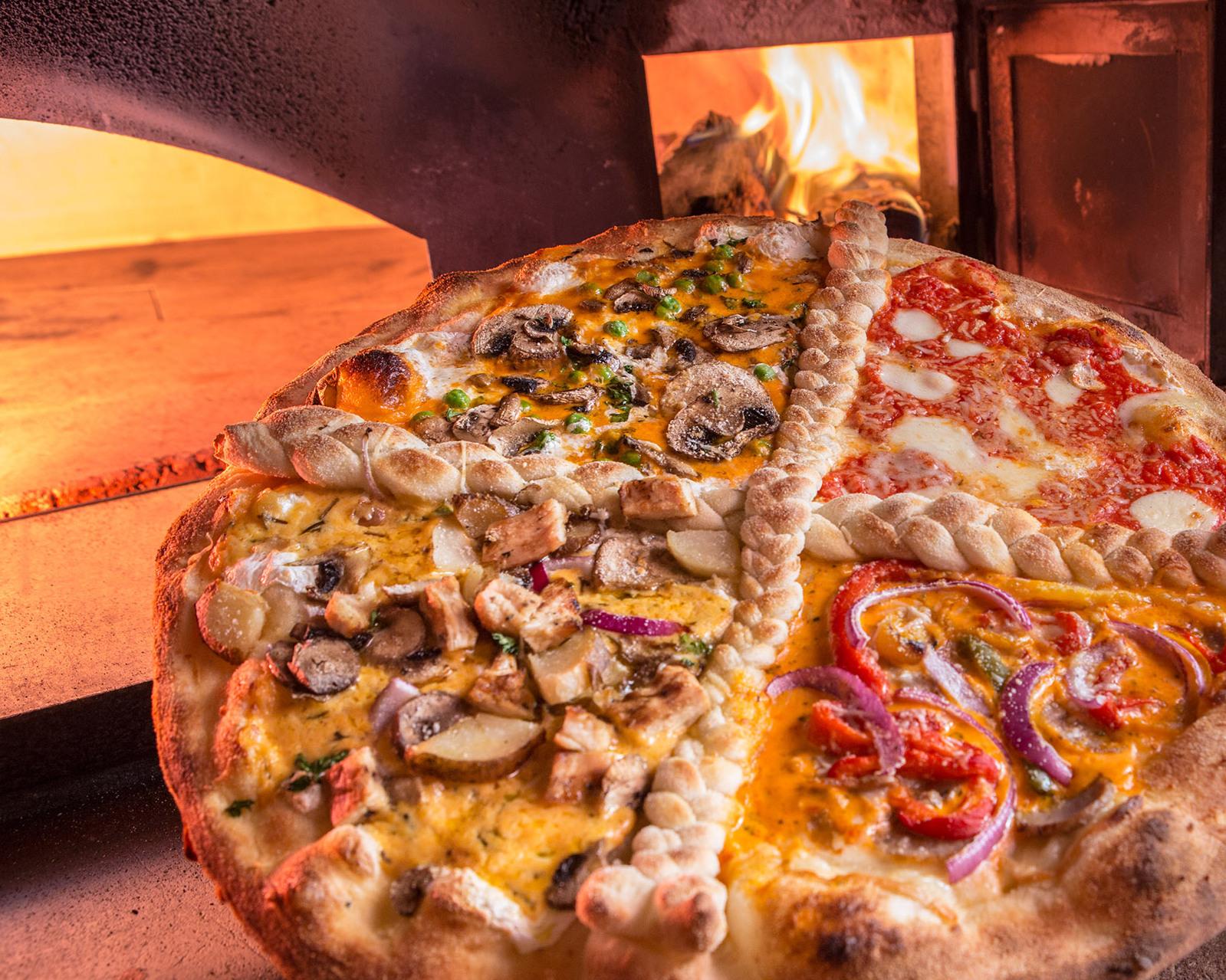 new york brick oven company pizza today. Black Bedroom Furniture Sets. Home Design Ideas