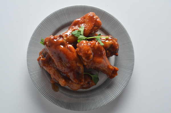 chicken wings with chipotle bbq sauce