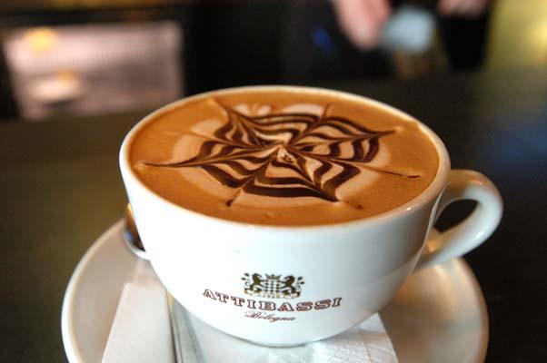 coffee two, mocha, espresso, coffee and tee