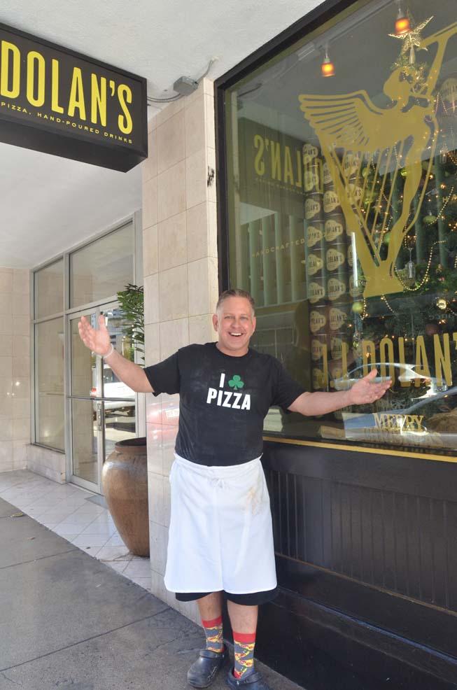 JJ Niebuhr JJ Dolans Pizzeria Irish Pub Honolulu Hawaii