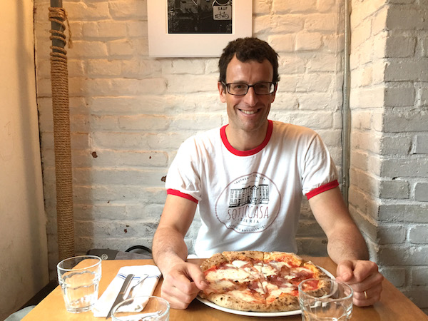 Luca Arrigoni, owner Sottocasa Pizzeria, Brooklyn, New York