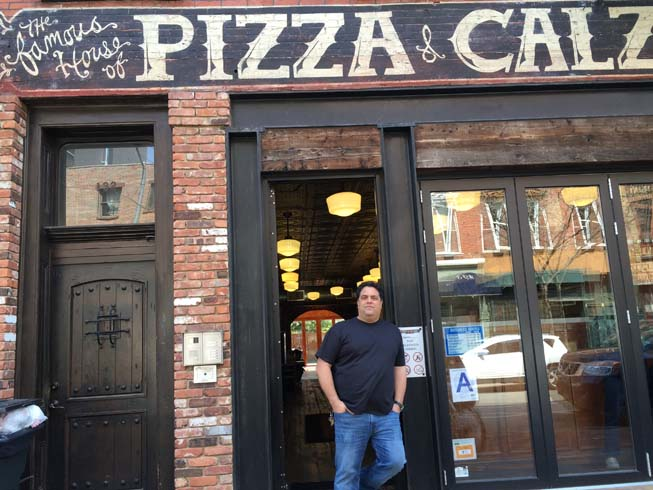 house of pizza and calzone, brooklyn, new york, Paul DiAgostino, Gino Vitale