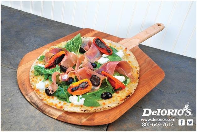 delorio's, homestyle, gluten free, pizza, par baked