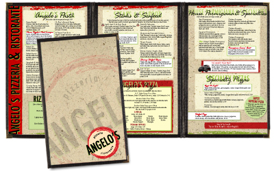 professionally designed menus you can edit yourself pizza today
