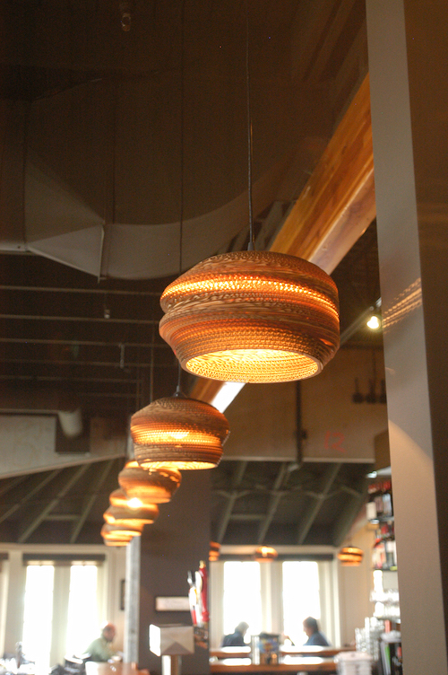 Light Fixtures Shed Some Light Pizza Today