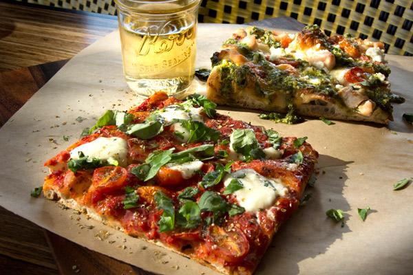 roman, al taglio-style pizza, pizza styles, square pizza