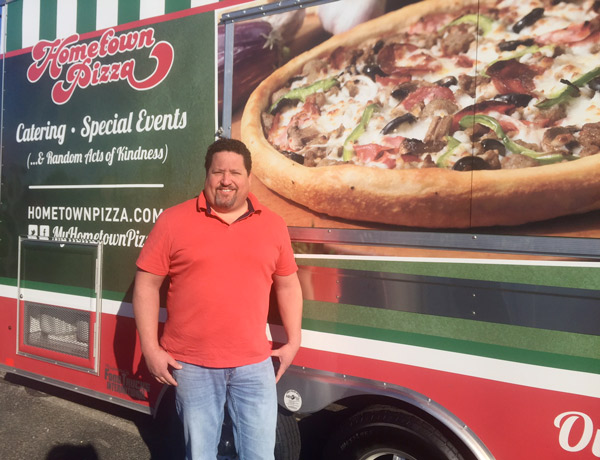 Tom Brown, Vice President Hometown Pizza
