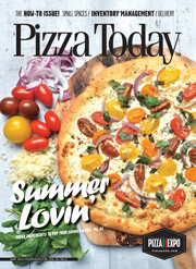 Pizza Today June 2016 Cover