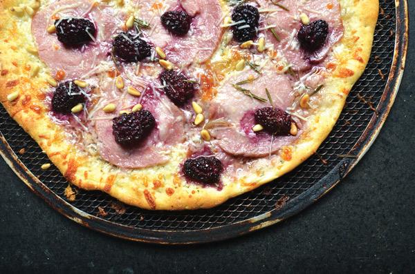 The Belgium Bombshell pizza