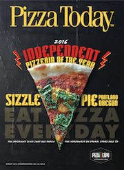 Pizza Today Front Cover August 2016