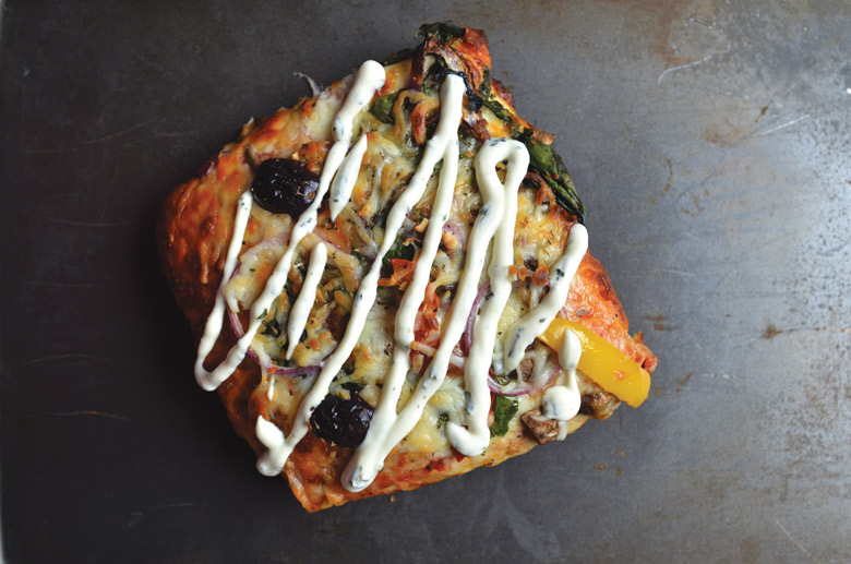 roman pizza slice