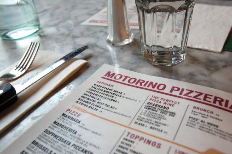 motorino pizza menu