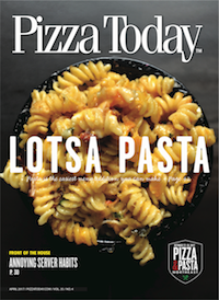 pizza today, cover, April 2017