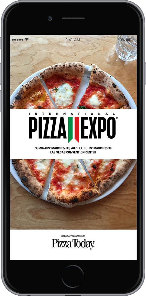 pizza expo app 2017