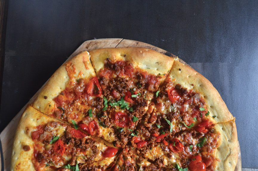 Spanish Chorizo Manchego Pizza