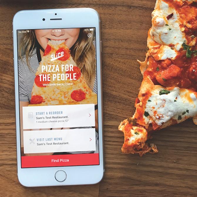 Slice Ordering App, pizza, online ordering