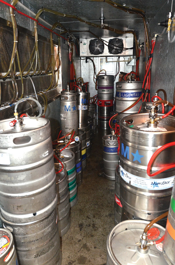 beer keg storage