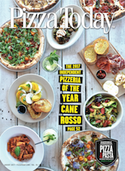 Pizza Today, pizza magazine, magazine cover, august 2017, independent pizzeria of the year, cane rosso, dallas, texas