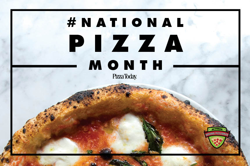 national pizza month, october