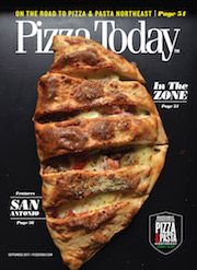 Pizza Today, magazine cover, September 2017