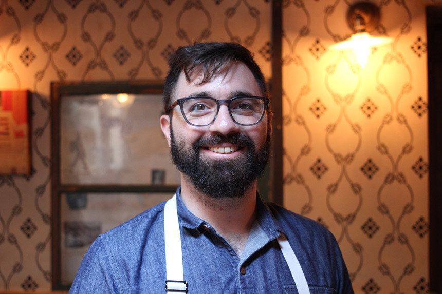 Alex Napolitano, Executive Chef, Rubirosa, NYC, new york, pizza, pizzeria, gluten free