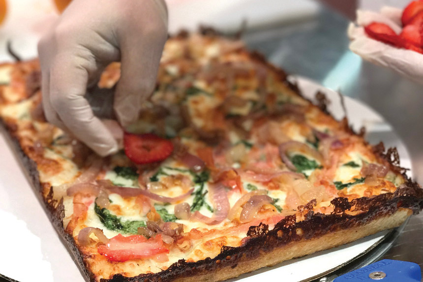 detroit style pizza, pizza styles,