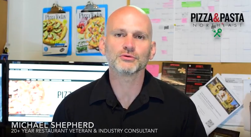 Michael shepherd, video, 20-percent profit margin, pizza and pasta northeast, pizza show