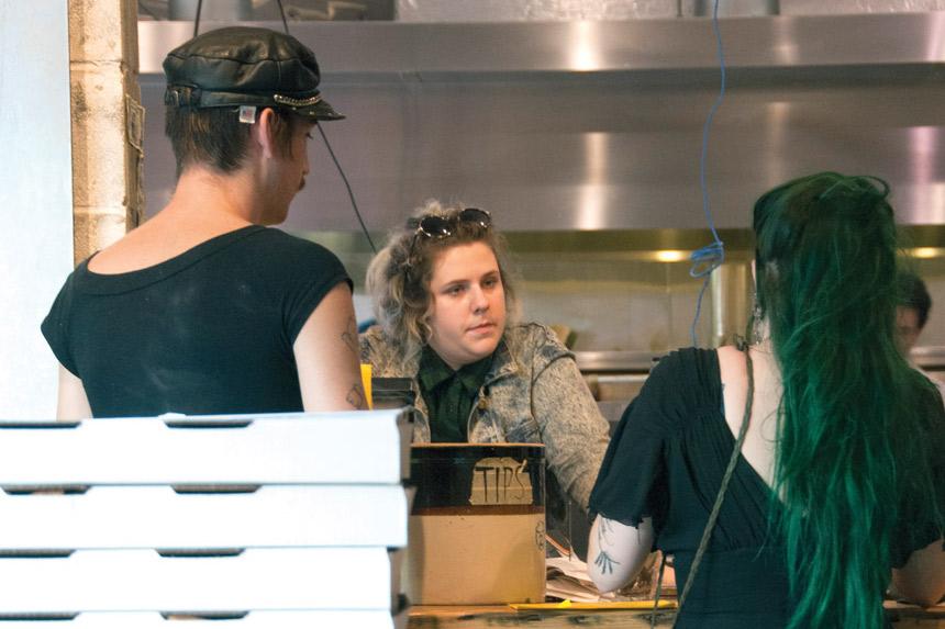 counter service pizzeria