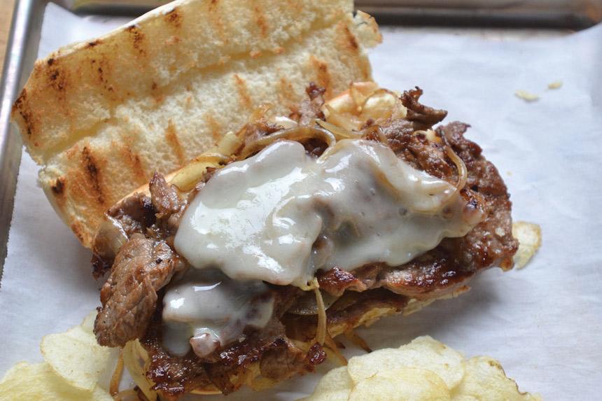 Philly Cheesesteak Sandwich