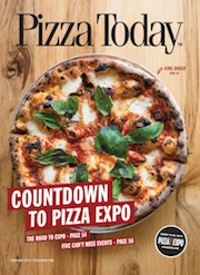 pizza today, magazine cover, february 2018