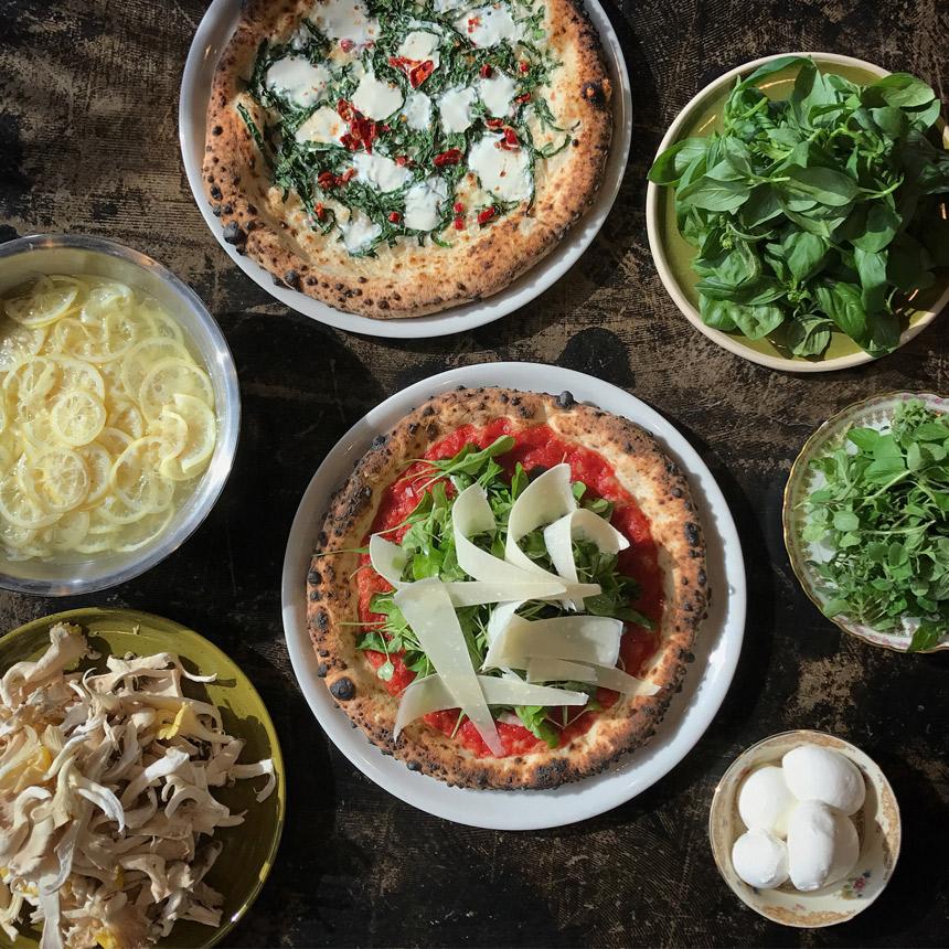 Adopo, pizza, knoxville, tennessee, sourdough pizza, pizzeria, Brian Strutz