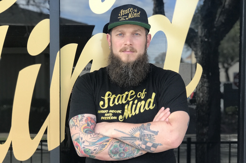 Lars Smith, co-owner, State of Mind Public House and Pizzeria, Los Altos, California