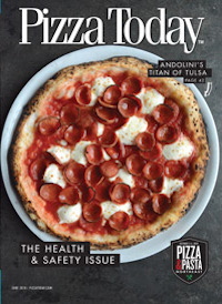 Pizza Today, June 2018, magazine cover
