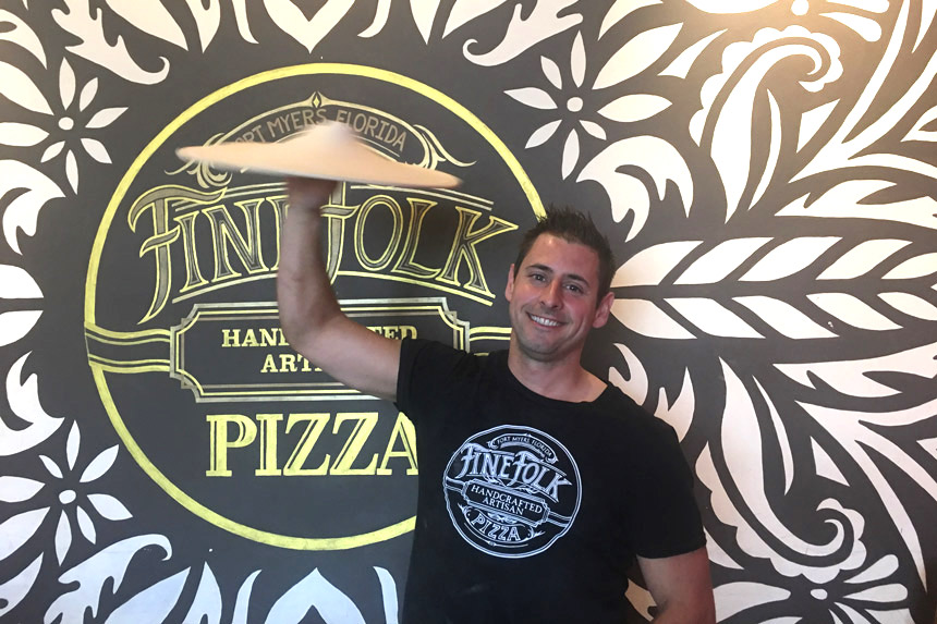 Michael DeNunzio, Fine Folk Pizza, Fort Myers, Florida
