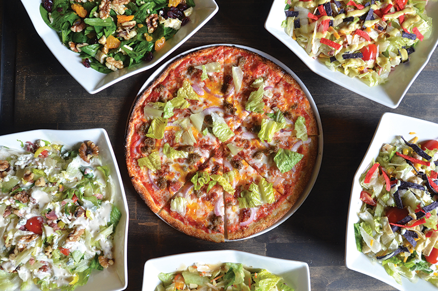 topp't handcrafted pizza and chopped salads, elizabethtown, kentucky, new albany, indiana, fast casual, pizza , pizzeria, pizzeria profile