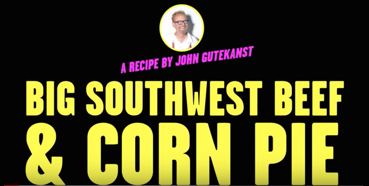 big southwest and corn pie, how to video