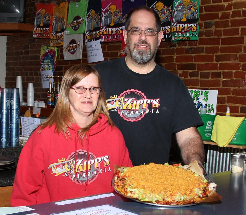 Jim Zimmerline, Zipp's Pizzaria, Adair, Iowa, Q&A