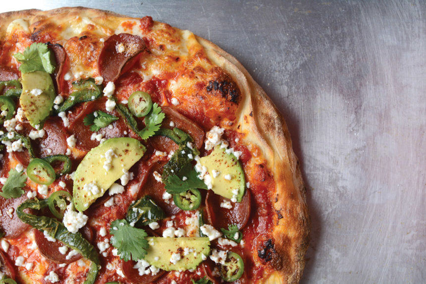 Chili Lime Avocado Pizza, tony gemignani, recipe