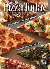 Pizza Today, magazine, Cover,