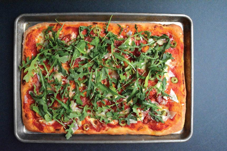 roman style pizza