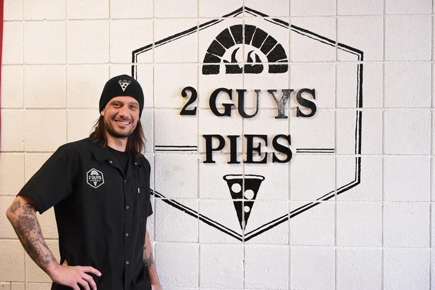 hamilton lewis, 2 guys pies, yucca valley, california,