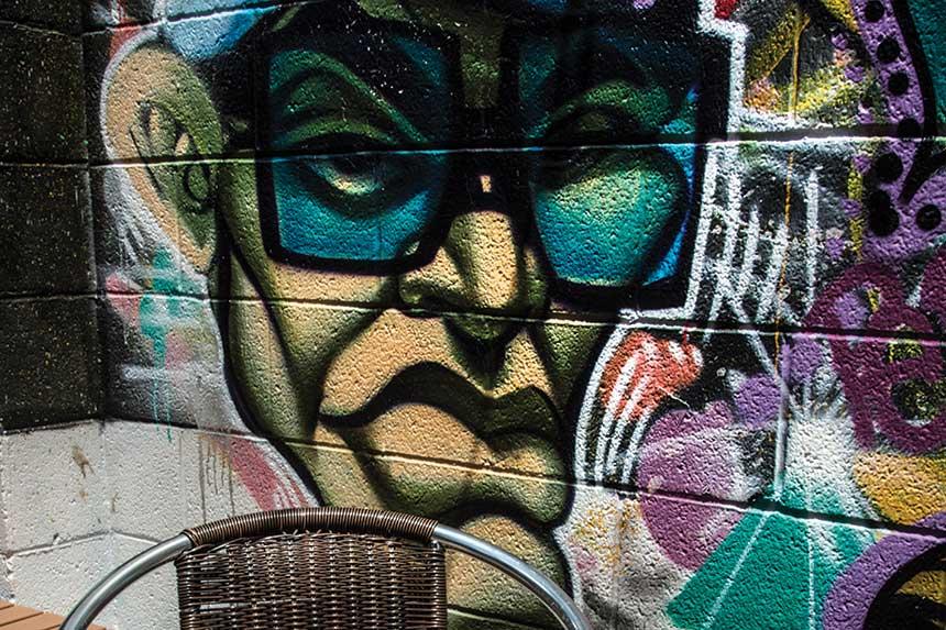 graffiti, art, Empire Slice House, Oklahoma City, Oklahoma, 2018 Independent Pizzeria of the Year